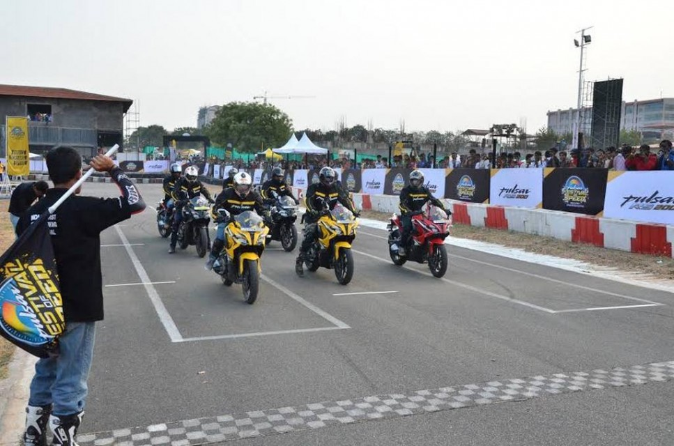 Bajaj Pulsar 'Festival Of Speed' 2