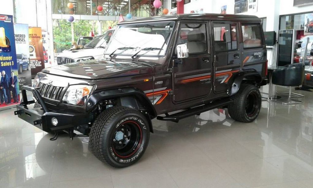 Modified Mahindra Bolero