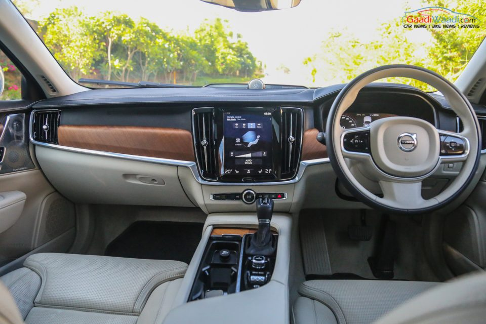 Volvo S90 TEST DRIVE REVIEW INDIA-33