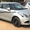 Swift-dzire-facelift-side in-silver-color