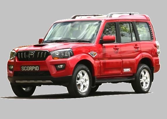 2015-mahindra-scorpio-front-red