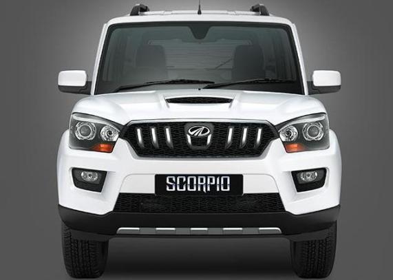 Mahindra-Scorpio-2015-Front-View