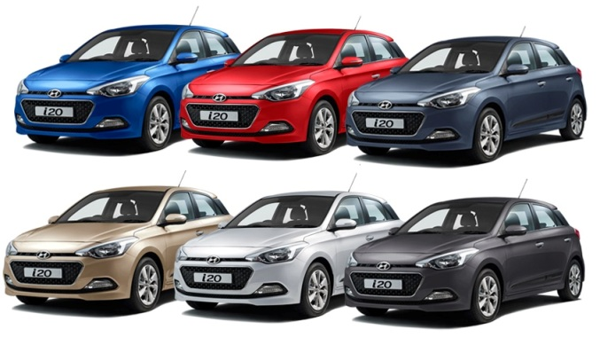 Elite I 20 Colors Gaadiwaadi Com Latest Car News