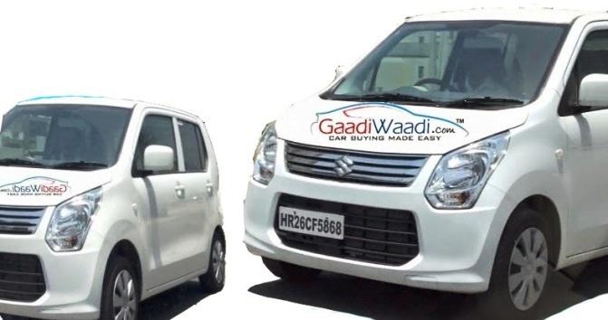 Maruti Suzuki Wagon R 2015 Spied In India