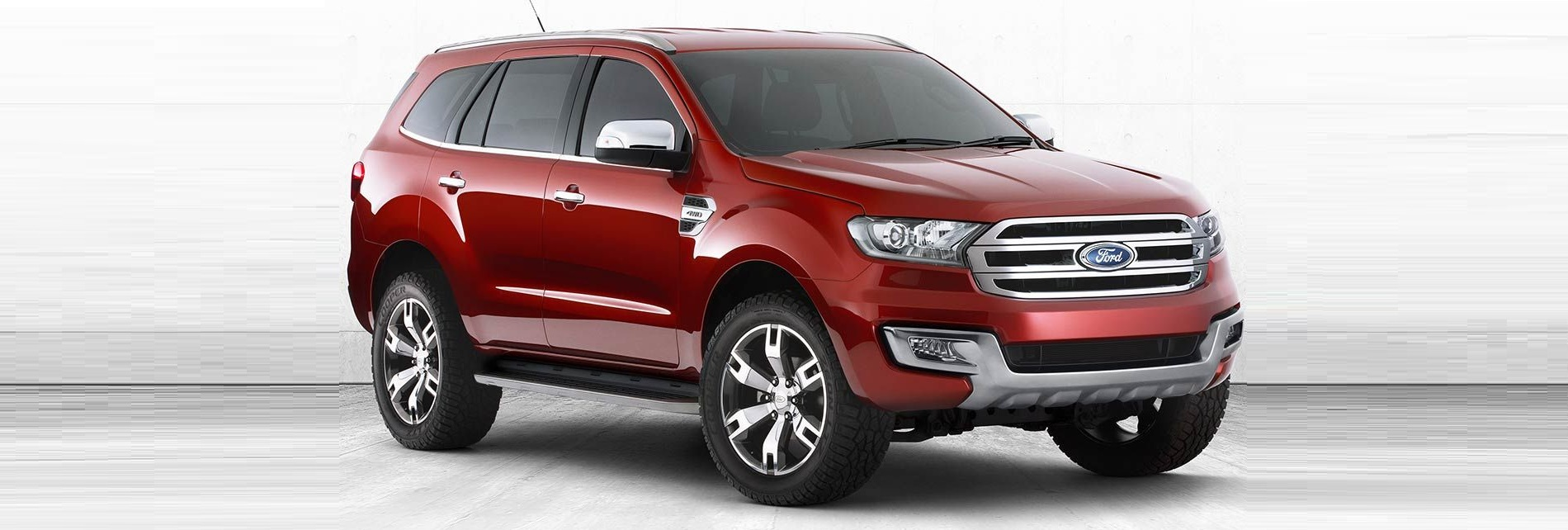 ford endeavour 2015 facelift spied in india