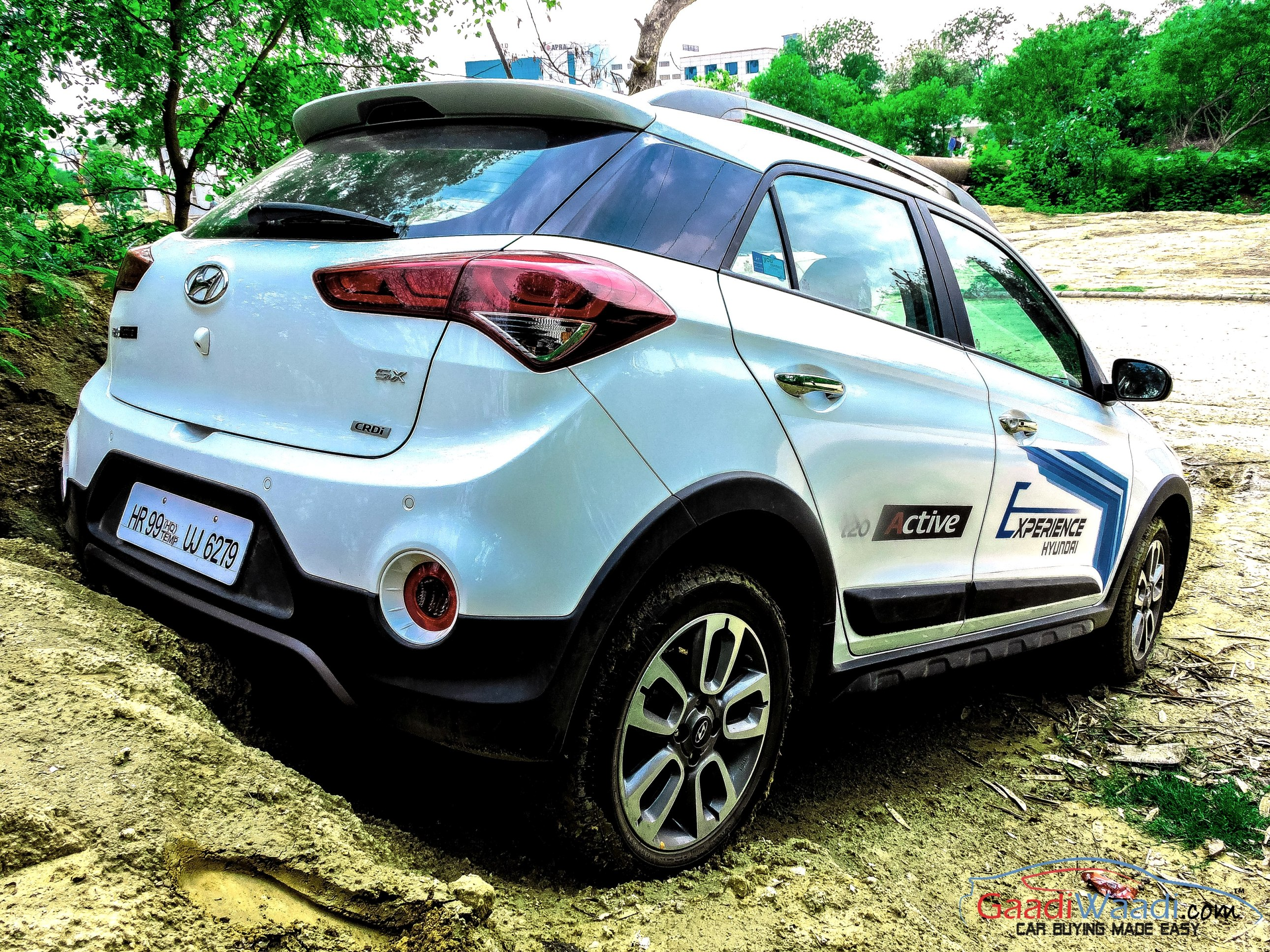 2018 hyundai i20 active looks sportier and aggressive in. Black Bedroom Furniture Sets. Home Design Ideas