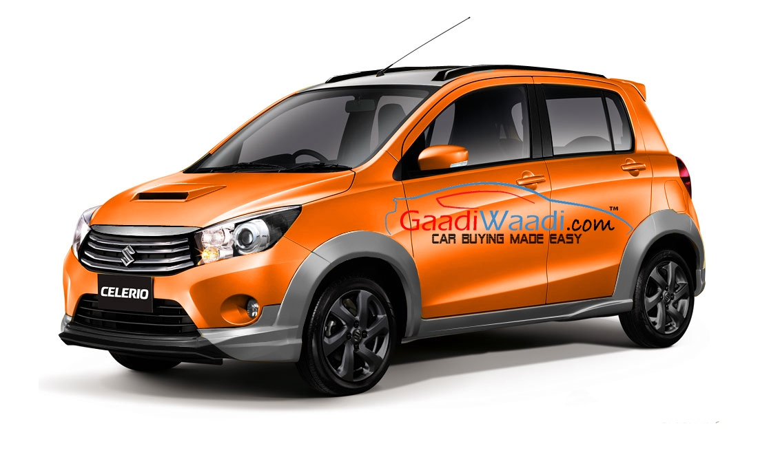 maruti celerio x cross launched in india price engine specs features. Black Bedroom Furniture Sets. Home Design Ideas