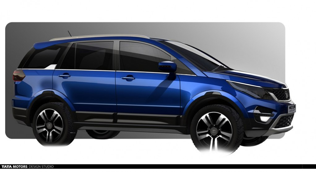 upcoming tata hexa 5 things we know. Black Bedroom Furniture Sets. Home Design Ideas