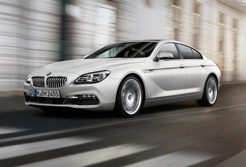BMW 6 Series Gran Coupe 2015 Front