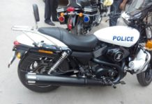 Harley-Street-750-Gujarat-Police
