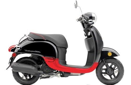 Honda-Metropolitan-based-electric-scooter