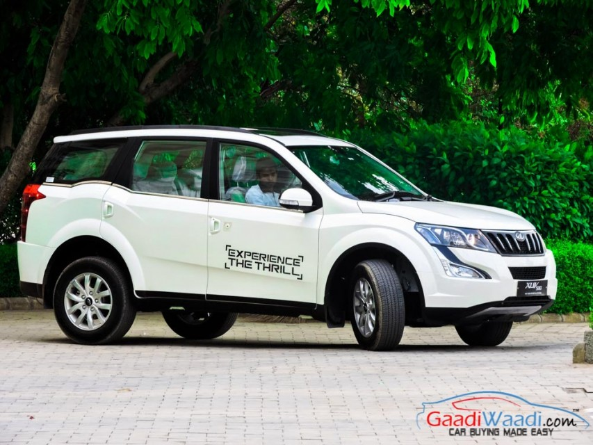 Mahindra Xuv500 W10 Automatic Receives New Features