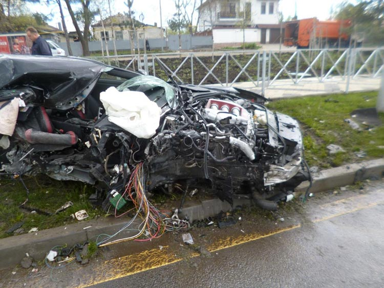 Footballer In Car Crash
