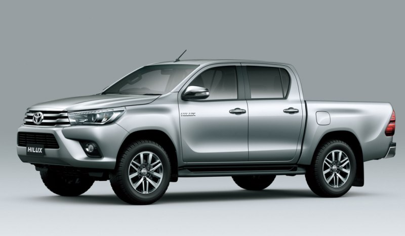 2016 Toyota Hilux Revo Debuts Globally In Thailand