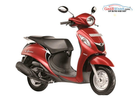 yamaha-fascino-scooter-in-red