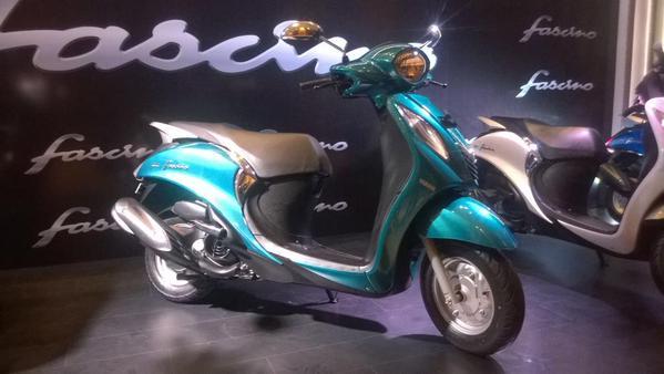 Yamaha Fascino Scooter Launched | Suzuki Cars