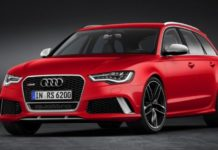 2015 Audi RS 6 Avant Red Quattro