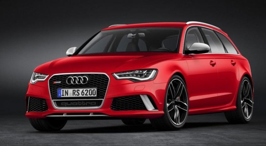 2015 Audi RS 6 Avant Red Quattro