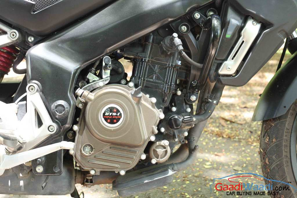 2015 Bajaj Pulsar AS 200 engine
