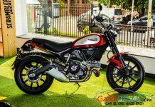 2015 Ducati India Entry Scrambler Red