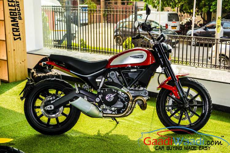 2015 Ducati India Entry Scrambler Red
