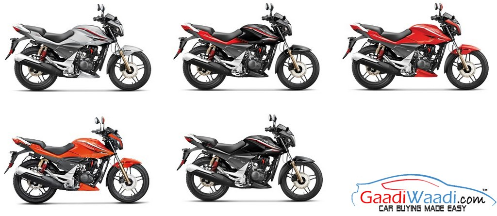 2015 HERO XTREME COLOURS