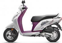 2015 Honda Activa i Facelift purple