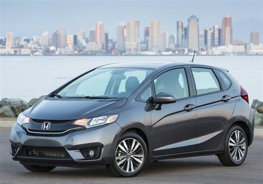 2015 Honda Jazz Side View