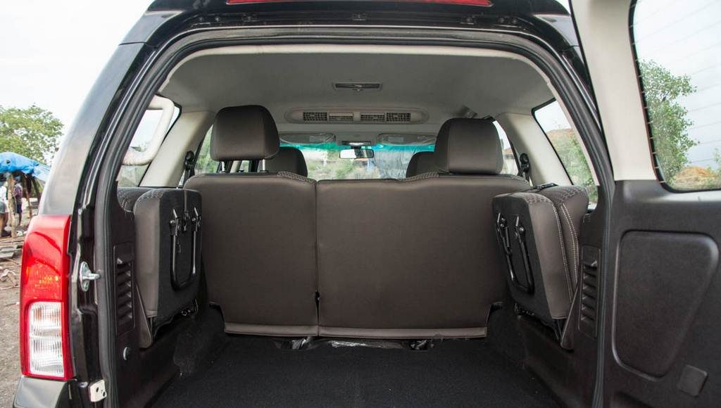 2015 Tata Safari Storme Boot Space