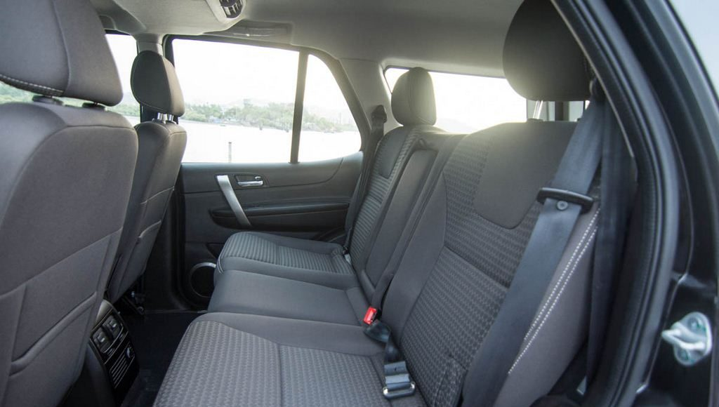 2015 Tata Safari Storme Rear Space