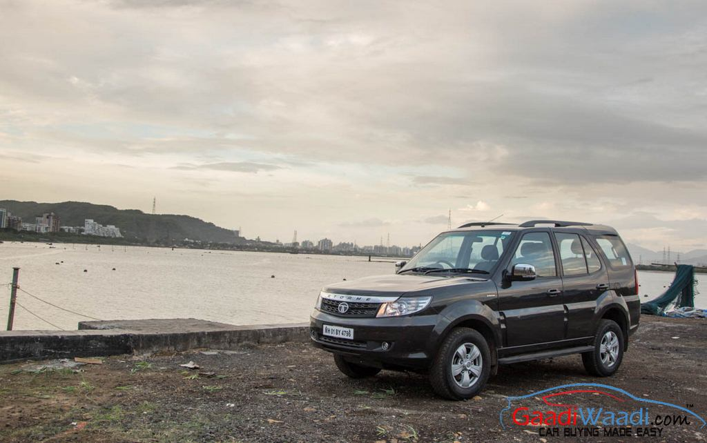 2015 Tata Safari Storme Road Test
