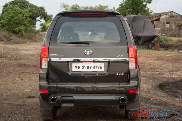 2015 Tata Safari Storme Tail Gate