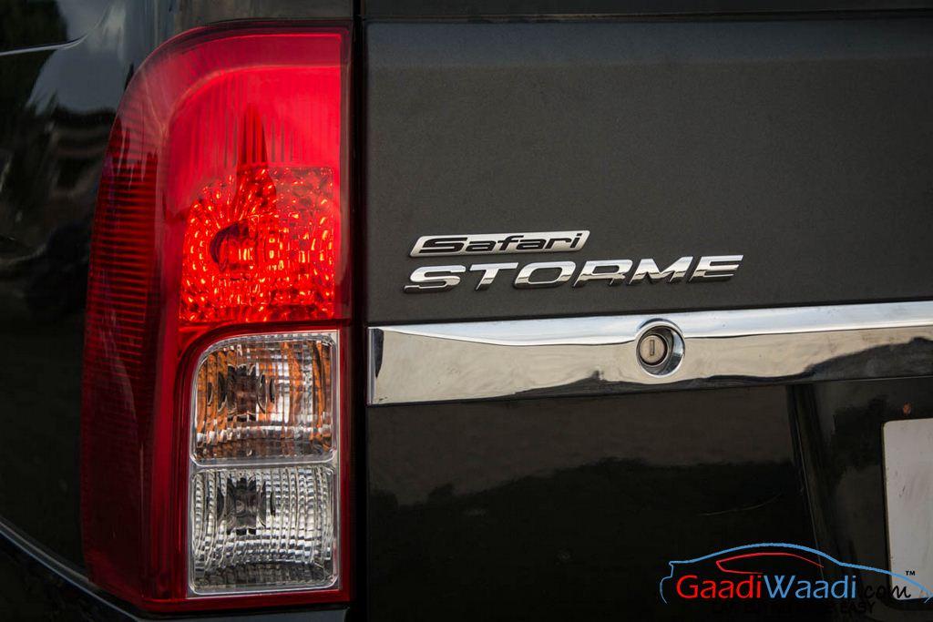 2015 Tata Safari Storme Tail Light