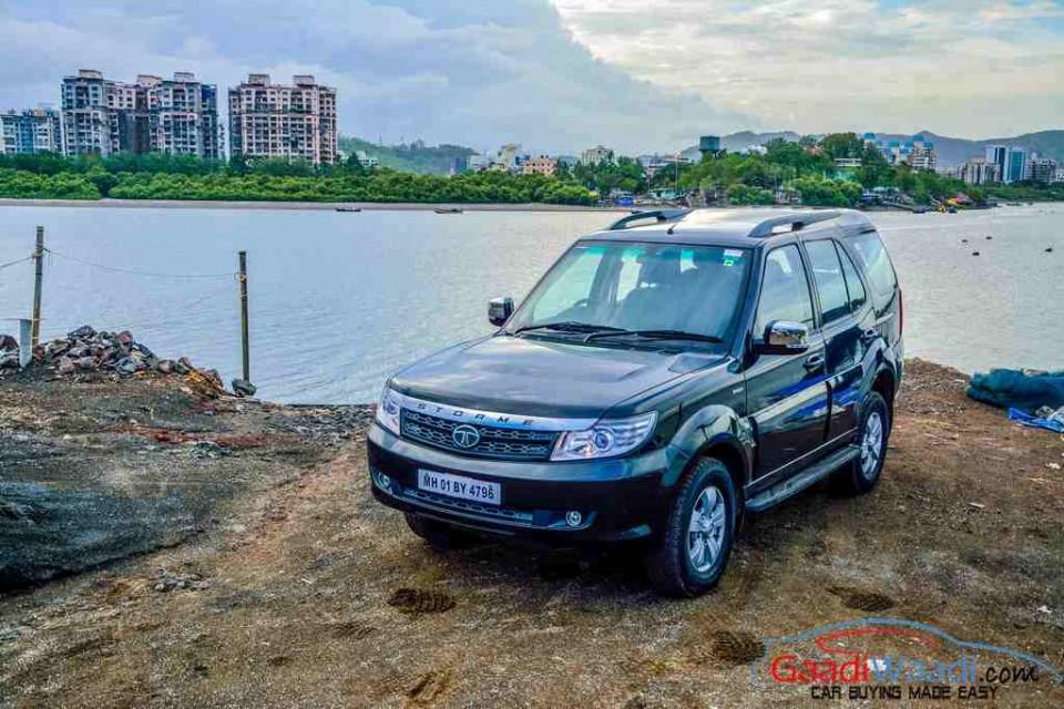 2018 Tata Safari Rendering Takes Design Cue From Land