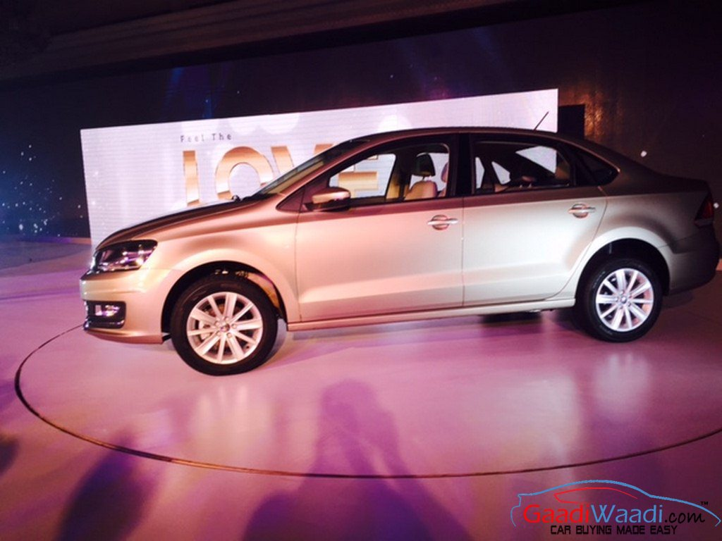 2015 volkswagen vento launched in india priced at rs lakhs. Black Bedroom Furniture Sets. Home Design Ideas