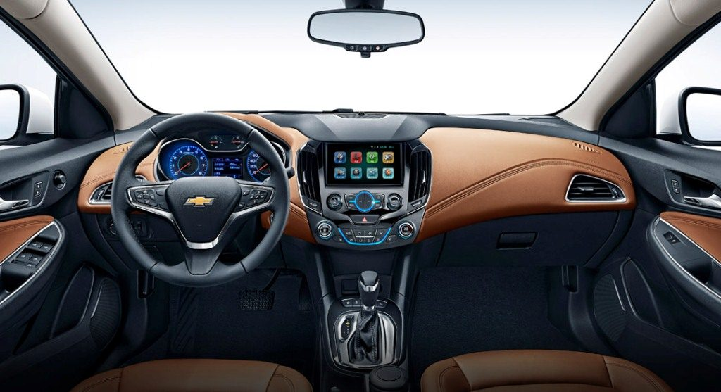 2016 chevrolet cruze unveiled looses muscle car aesthetics. Black Bedroom Furniture Sets. Home Design Ideas