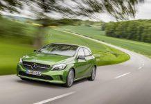 2016 Mercedes A Class Front