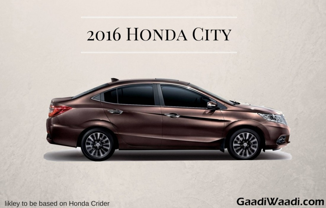 2016 Honda City Side Image Gaadiwaadi Com