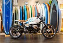BMW Motorrad R NineT Scrambler Boxer Engine