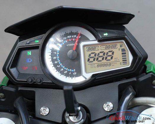 Benelli TNT 300 Console