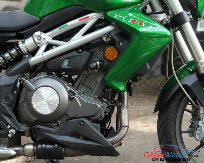 Benelli TNT 300 Engine