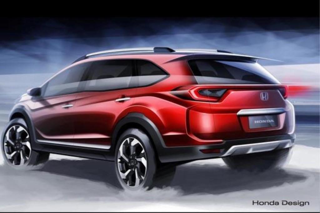 Honda BR V Compact SUV