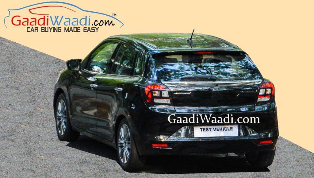 Maruti Suzuki YRA rear View