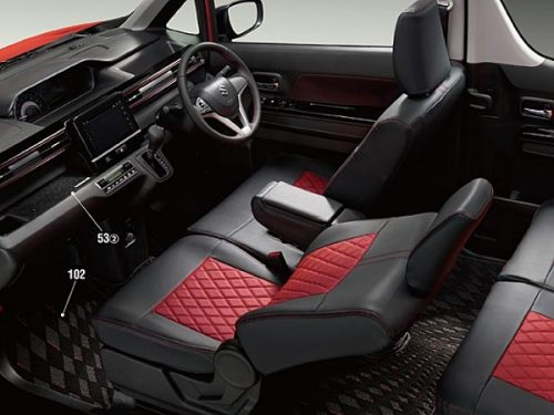 New Generation Suzuki Wagon R interior 1