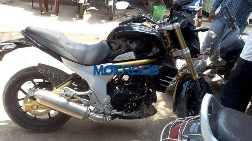 New Mahindra Mojo Spy Images 2