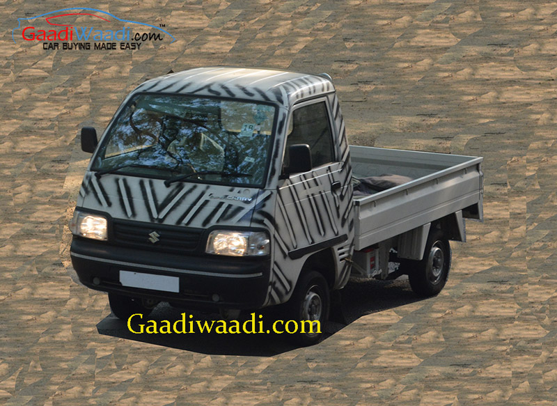 Maruti Y9t Lcv To Badged As Maruti Suzuki Super Carry Spied