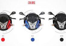 bajaj pulsar 200AS colours
