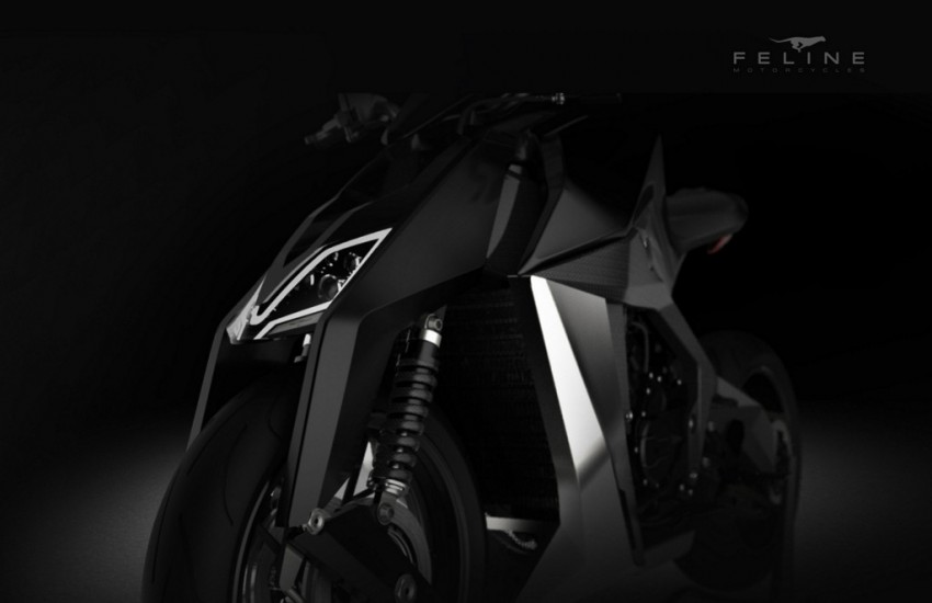 feline 800cc motorcycle design