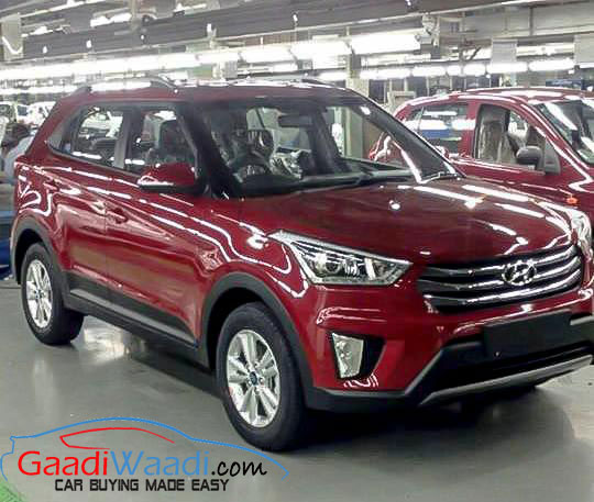 Undisguised Images Of Hyundai Creta Leaked From Factory