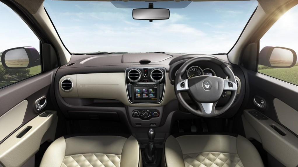 renault lodgy stepway interiors